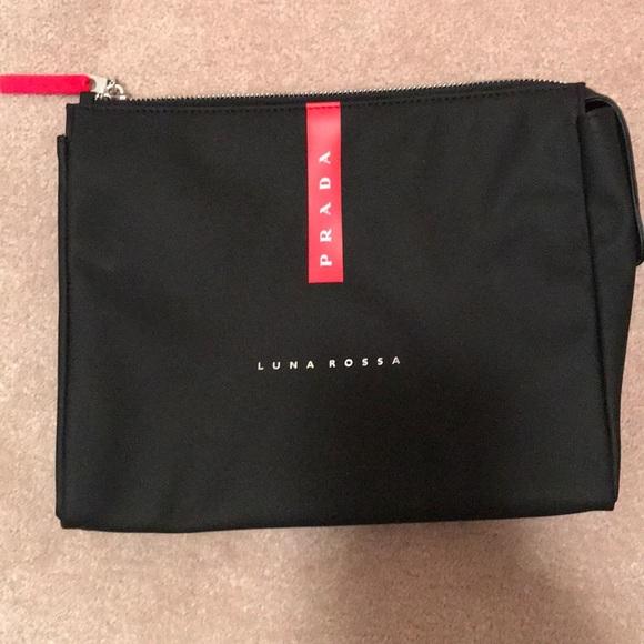 get prada robot makeup bag black e99c5 5aeef  authentic luna rossa by prada  makeup bag 3816a c9211 b5382e3dbd851